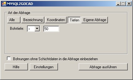 ScreenShot Hauptfenster